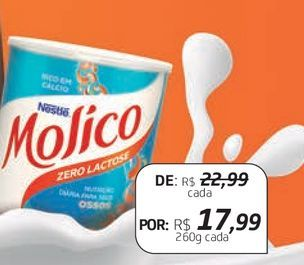 Oferta de Leite em pó Molico por R$17,99