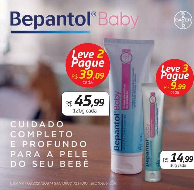 Oferta de Creme regenerador Bepantol baby por R$14,99