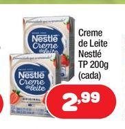 Oferta de Creme de leite líquido Nestlé por R$2,99
