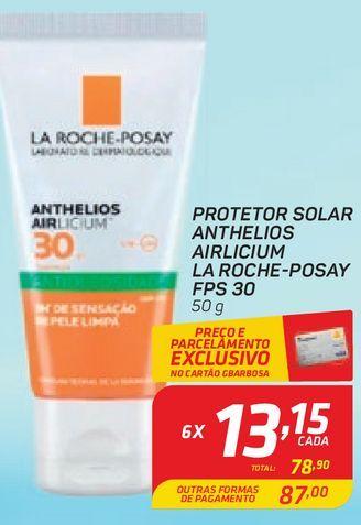 Oferta de Protetor Solar Anthelios Airlicium La Roche-posay FPS 30 50g por R$78,9