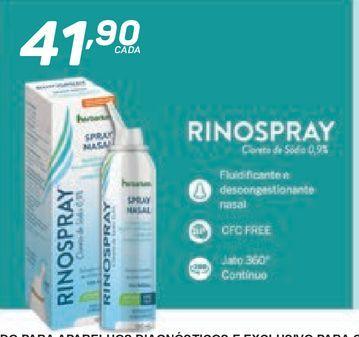Oferta de Rinospray por R$41,9