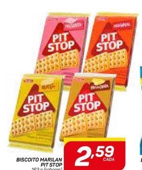Oferta de BISCOITO MARILAN PIT STOP por R$2,59