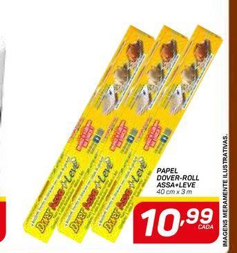 Oferta de PAPEL DOVER-ROLL ASSA+LEVE por R$10,99
