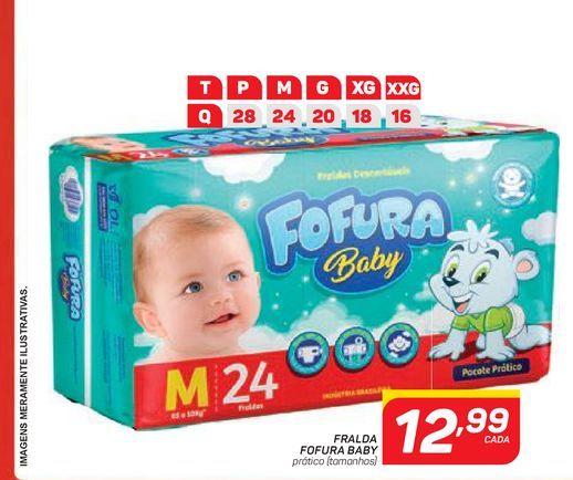Oferta de FRALDA FOFURA BABY por R$12,99