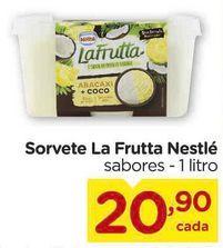 Oferta de Sorvete La Frutta Nestlé  por R$20,9