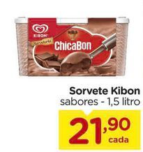 Oferta de Sorvete Kibon sabores  por R$21,9