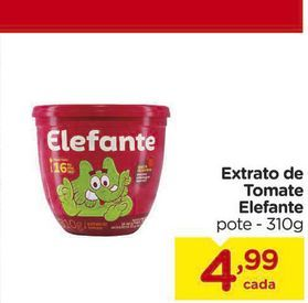 Oferta de Extrato de Tomate Elefante por R$4,99