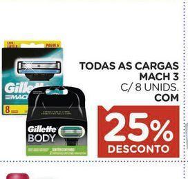 Oferta de Faca descartável Gillette por