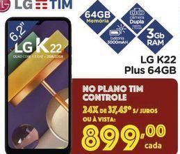 Oferta de Celulares LG K22 por R$899