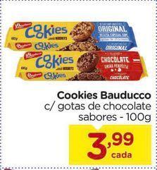Oferta de Cookies Bauducco por R$3,99
