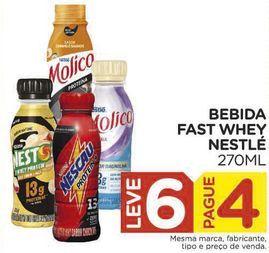 Oferta de Bebida Fast Whey Nestlé por