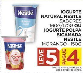 Oferta de Iogurte natural Nestlé ou Iogurte Polpa Bicamada Nestlé por