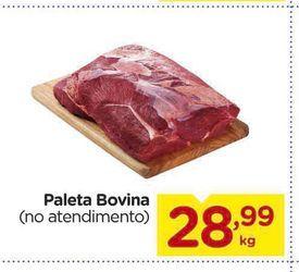 Oferta de Paleta Bovina por R$28,99