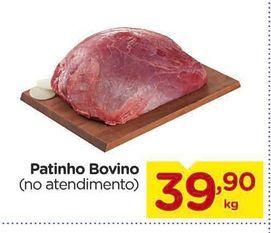 Oferta de Patinho Bovino por R$39,9
