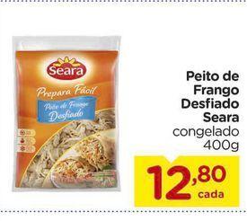 Oferta de Peito de Frango Desfiado Seara por R$12,8