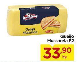 Oferta de Mussarela Ipanema por R$33,9