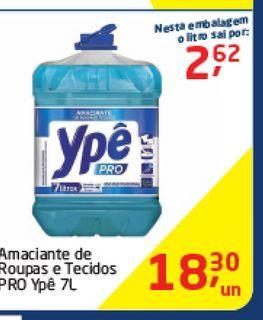 Oferta de Amaciante de Roupas e tecidos  por R$18,3