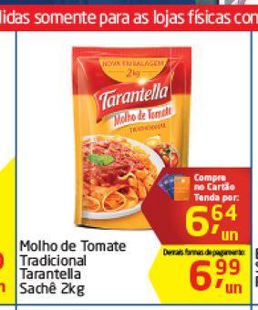 Oferta de Molho de Tomate Tradicional Tantatella  por R$6,64