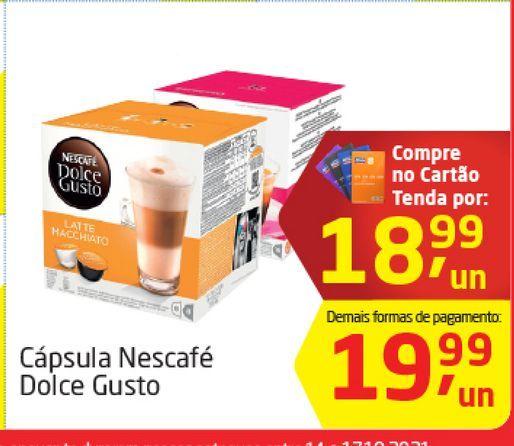Oferta de Cápsulas Nescafé Dolce Gusto  por R$18,99