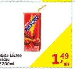 Oferta de Bebida Lactea Nescau 200 ml  por R$1,49