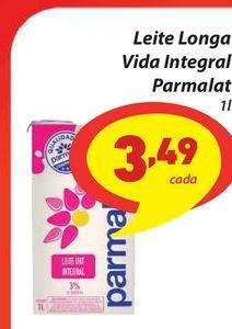 Oferta de Leite Longa Vida Integral Parmalat 1l por R$3,49