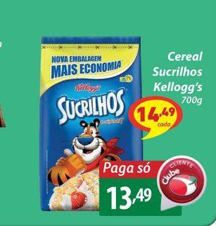 Oferta de Cereal Sucrilhos Kellogg's por R$13,49
