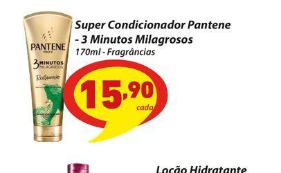 Oferta de Super Condicionador Pantene - 3 Minutos Milagrosos 170ml - Fragrâncias por R$15,9