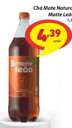 Oferta de Chá Mate Natural Matte Leão 1,5L por R$4,39