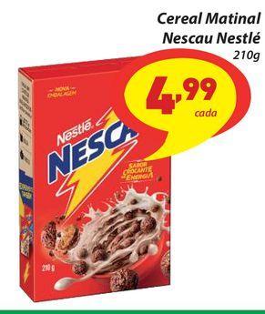 Oferta de Cereal Matinal Nescau Nestlé 210g por R$4,99