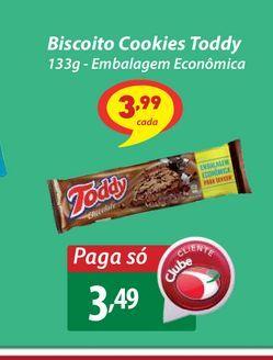 Oferta de Biscoito Cookies Toddy por R$3,49