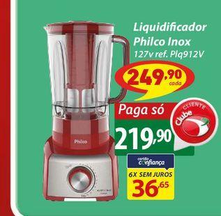 Oferta de Liquidificador Philco Inox 127v ref. Plq912V por R$219,9