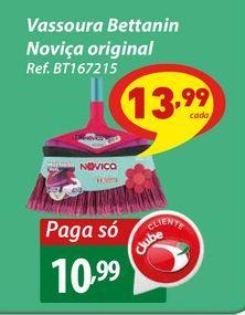 Oferta de Vassoura Bettanin Noviça original por R$10,99