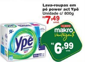 Oferta de Detergente em pó Ypê por R$6,99
