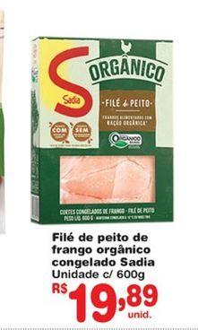 Oferta de Peito de frango Sadia por R$19,89