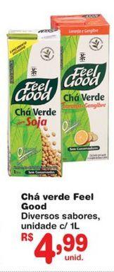 Oferta de Chá verde Feel Good por R$4,99