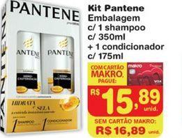 Oferta de Shampoo Pantene por R$15,89