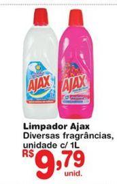 Oferta de Limpadores Ajax por R$9,79