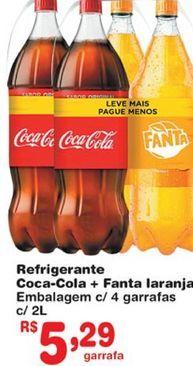 Oferta de Refrigerante de cola por R$5,29