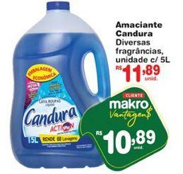 Oferta de Amaciante Candura por R$10,89