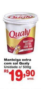 Oferta de Manteiga Qualy por R$19,9