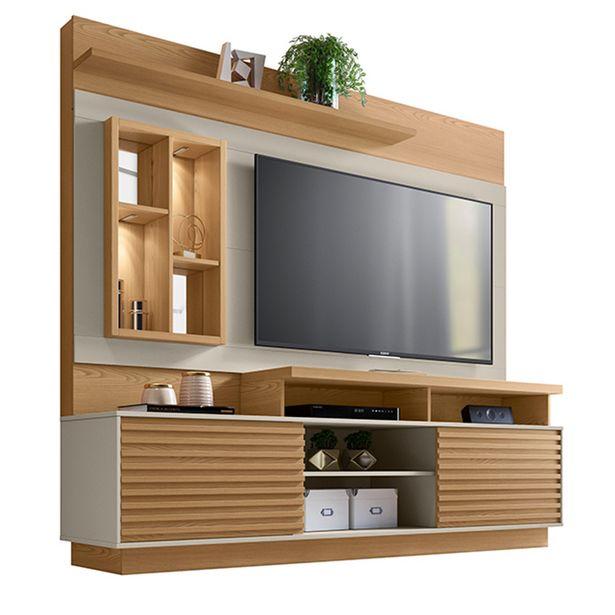 Oferta de Estante Home Theater para TV até 65 Linea Brasil Eldorado C... por R$1385