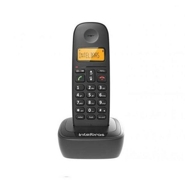 Oferta de Telefone Fixo Sem Fio Intelbras Digital com Identificador de... por R$123