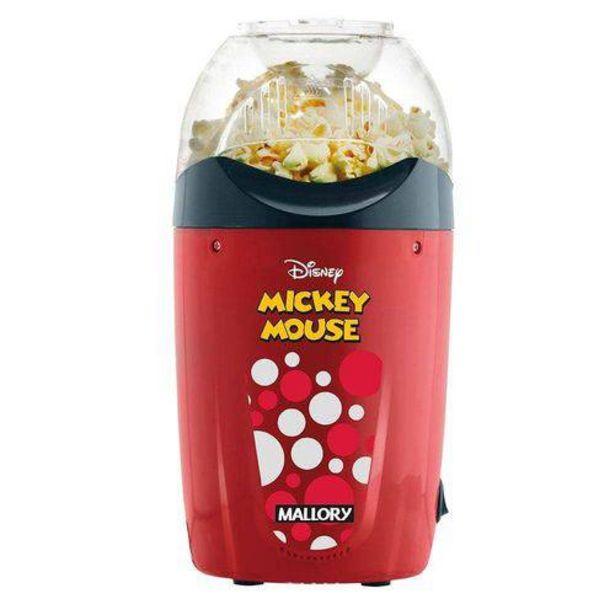 Oferta de Pipoqueira Elétrica Mallory Disney Mickey Mouse 220V por R$129