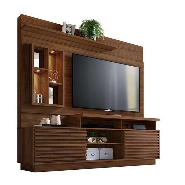 Oferta de Estante Home Theater para TV até 65 Linea Brasil Eldorado N... por R$1385