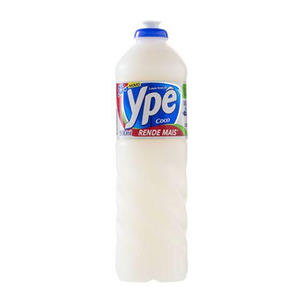 Oferta de Detergente Líquido Ypê Coco 500ml por R$2,19
