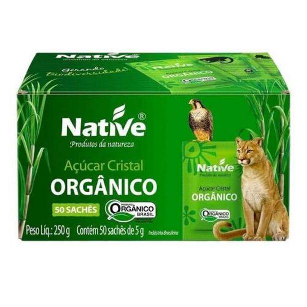 Oferta de Acucar Native 250g Cristal 50un por R$7,69
