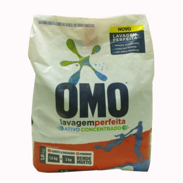 Oferta de Deterg.po Omo 1,600 Lavagem Perf.sachet por R$13,23