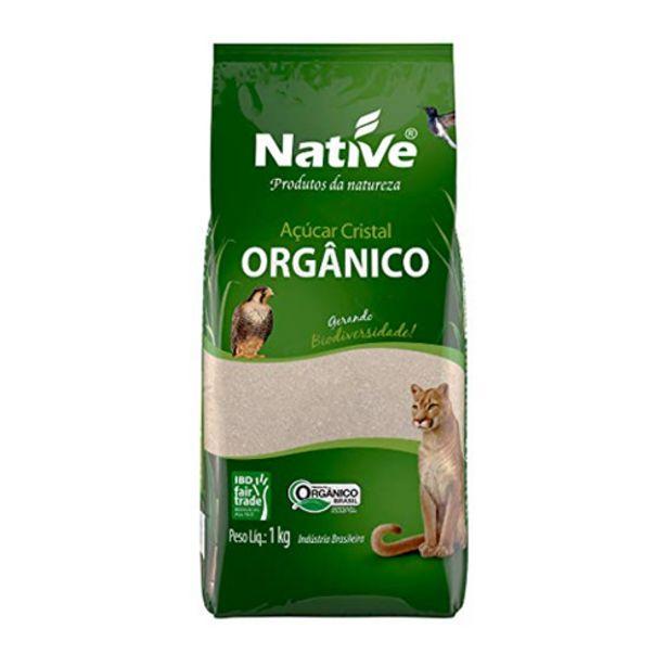 Oferta de Acucar Native 1kg Claro Organico por R$8,99