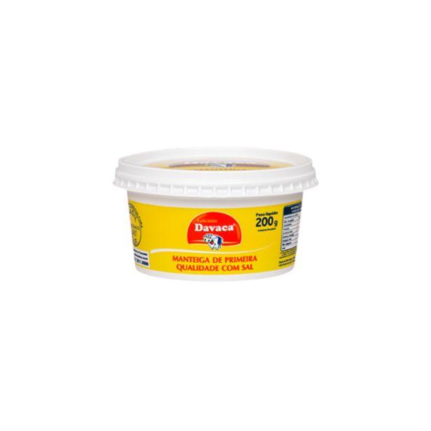 Oferta de Manteiga Davaca 200g por R$10,99
