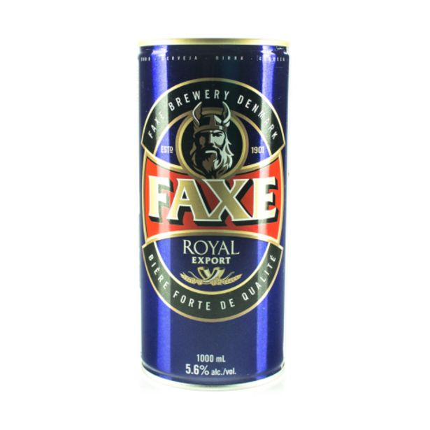 Oferta de Cerveja Faxe 1lt Royal Export por R$33,9